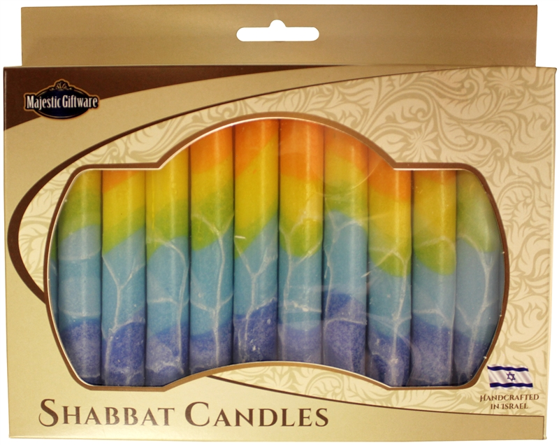 Shabbat and Chanukah Candles